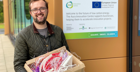 Aura Innovation Centre becomes a national hub for 3D printed waste